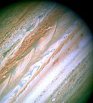 Visible-Light Image of Jupiter -- Hubble Space Telescope