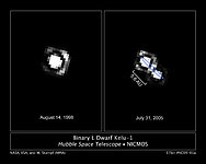 Binary brown dwarf Kelu-1