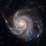 Hubble image of M101