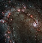 Hubble Wide Field Camera 3 Image Details Star Birth in Galaxy M83