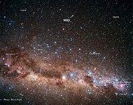Ground-based image of Sky Around M83 (ground-based image)