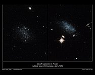 Dwarf galaxies in pisces