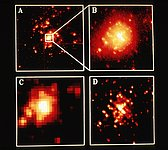 HST and Ground Based Telescope Photo
