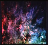 Window-Curtain Structure of the Orion Nebula Revealed
