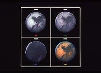 Mars, Three-color Composite