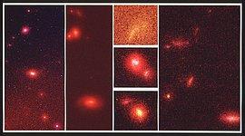 Hubble Space Telescope Deep-Sky Survey Reveals Embryonic Galaxies