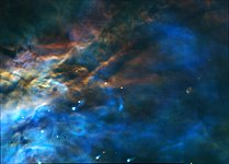 The Stunning Colors of the Orion Nebula