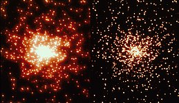Comparison of a WFPC2 Thermal Vacuum Globular Cluster-Mask Image to WFPC1