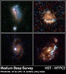 Normal Galaxies from HST Medium Deep Survey