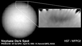 Dark Spot on Neptune