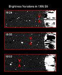 Brightness Variations in Saturn's Satellite 1995S5