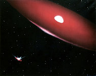 The Phi Persei Duo (artist's impression)