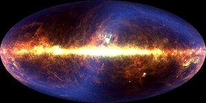 DIRBE 60 micrometer image of sky
