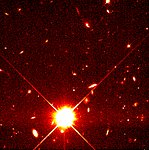 Distant Supernova 1997ce