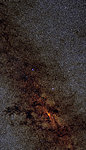 2 Micron All Sky Survey (2MASS) mosaic of the center of the Milky Way