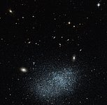 Dwarf galaxy: small but perfectly formed
