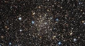 Engulfed by stars near the Milky Way's heart
