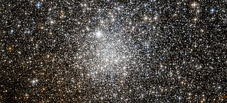 Enigmatic cluster targeted by Hubble