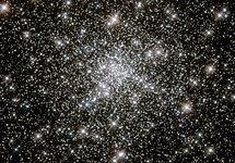 Young stars at home in an ancient cluster