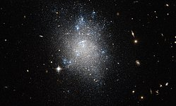 An archetypal dwarf galaxy