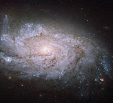 A spiral home to exploding stars