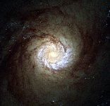 A hungry starburst galaxy