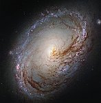 A galactic maelstrom
