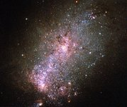 A galaxy fit to burst