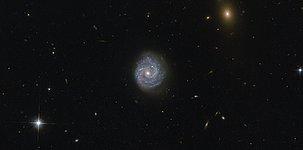A black hole of puzzling lightness