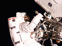 SM2: Astronaut Gregory J. Harbaugh