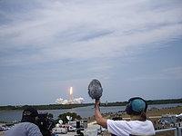 Space Shuttle Atlantis lifts off
