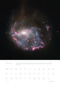 January from the Hubble 2013 calendar