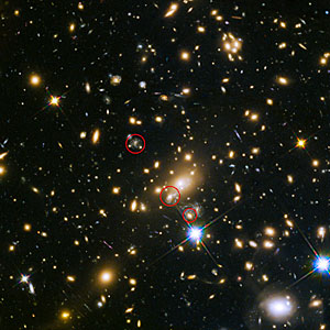 Appearance of the the Refsdal supernova