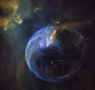 Still from Hubblecast 92: 26th anniversary