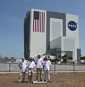 ESA HST team at Kennedy Space Center