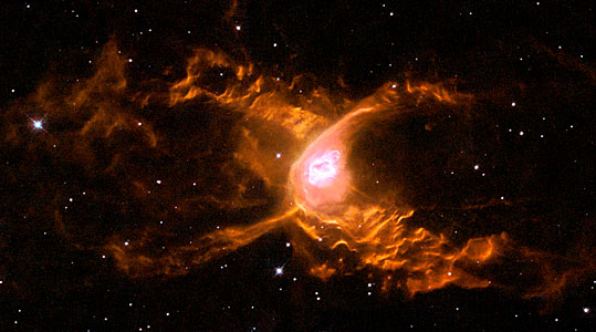 The Red Spider Nebula: Surfing in Sagittarius - not for the faint-hearted!