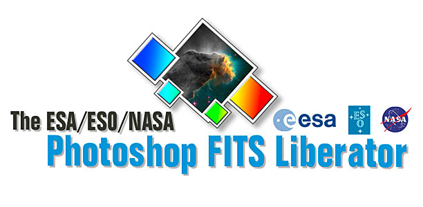 The logo for the ESA/ESO/NASA Photoshop FITS Liberator
