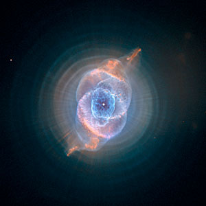 Dying star creates fantasy-like sculpture of gas and dust