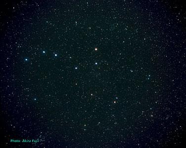 The Ursa Major constellation (ground-based image)