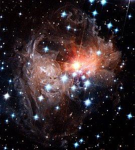 Spectacular view of V838 Monocerotis light echo