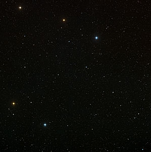Wide field image of Abell 2667 region (ground-based image)