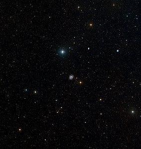 NGC 1672 in Dorado (ground-based image)