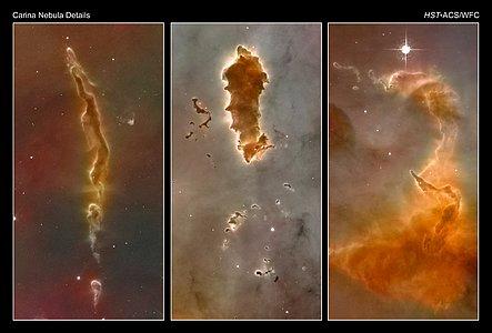 Carina Nebula Details