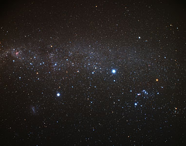 The southern Milky Way (ground-based image)
