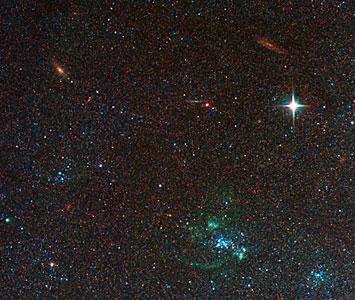 Spiral Galaxy M81 Details 5