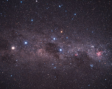 Extreme star cluster bursts into life  (ground-based image)
