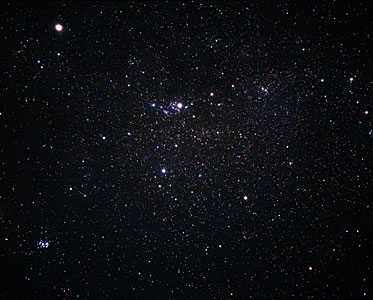 A wide-field image of Perseus (ground-based image)