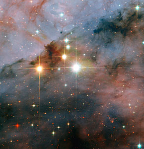 Mammoth stars seen by Hubble