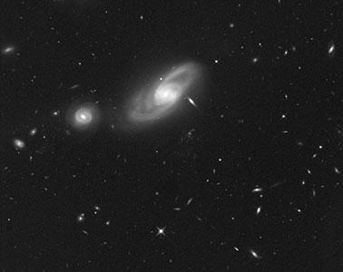 Infrared image of area surrounding Hanny's Voorwerp