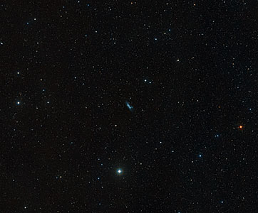 Ground-based, wide-field view of NGC 2366